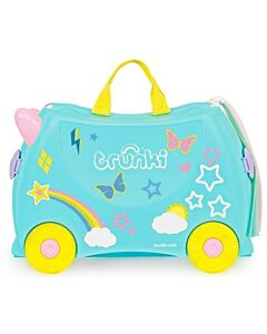 Trunki Ride-On Little Luggage for Little People - Una The Unicorn - 15% OFF!
