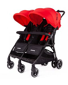 Baby Monsters | Kuki Twin Stroller (Birth to 15kg / each seat) - Red - 20% OFF!!
