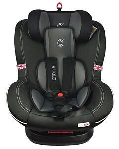 Crolla™ S+ 360 ISOFIX (360 Rotation Makes Life Easier)   Two Tone Black - 27% OFF!!