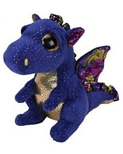Ty Beanie Boos: Saffire - Dragon (Regular)