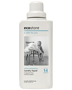 Ecostore Ultra Sensitive Laundry Liquid 500ml - 40% OFF!!