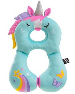 BenBat Travel Friends: Total Support Head & Neck rest - Unicorn (new design) (1-4 years old) - 20% OFF!!