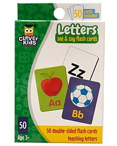 The Learning Journey: See & Say Flashcards - Letters
