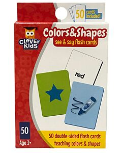 The Learning Journey: See & Say Flashcards - Colours & Shape