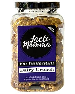 LactoMomma: Dairy Crunch | Milk Booster Cookies