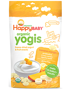Happy Baby: Happy Yogis - Organic Yogurt Snacks - Banana Mango