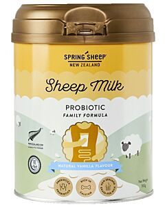 SPRING SHEEP MILK: Probiotic sheep milk -VANILLA Flavoured 700gm (For 4 years above and adults)