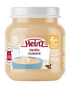 Heinz: Vanilla Custard 110g (From 6+ Months)