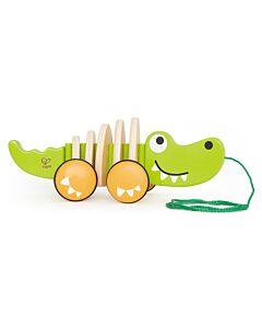 Hape Toys: Walk-A-Long Croc (12+ Months) - 16% OFF!!