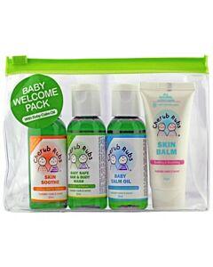 Cherub Rubs Organic Welcome Pack - 12% OFF!!