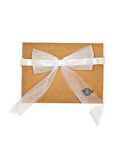 Baby Island Headband - White Ribbon - 10% OFF!