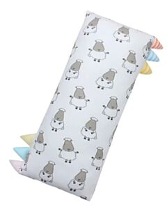 Baa Baa Sheepz: Bed-Time Buddy Big Sheepz White with Color & Stripe Tag (Jumbo) - 10% OFF!!