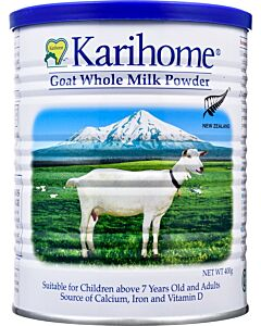 Karihome Goat Whole Milk Powder 400g (7 years & above and adults) -14% OFF!!