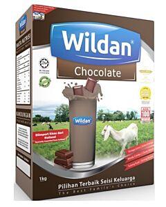 WILDAN Susu Kambing Coklat 500g + FREE 50g (1 Tahun & Ke Atas)