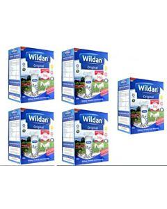 WILDAN Susu Kambing Asli 550g x 5 boxes bundle (1 Tahun & Ke Atas) - 12% OFF!!