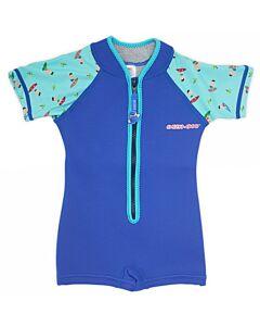Cheekaaboo Wobbie Suit - Navy Blue / Surfer - L (4-6y) - 20% OFF!!