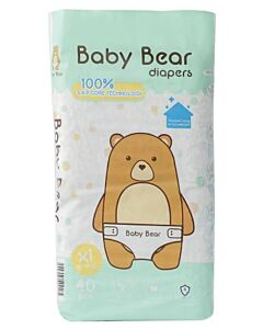 BB Diapers - Baby Bear Diapers XL40 (12 - 17kg)