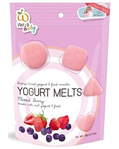 Wel.B Baby Freeze Dried Yogurt Melts - Mixed Berry - 10% OFF!!