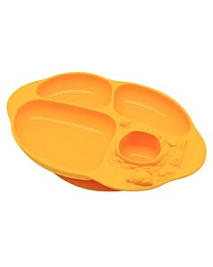 Marcus & Marcus | Yummy Dips Suction Divided Plate | Lola (Giraffe) - 10% OFF!!