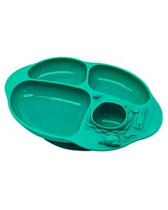 Marcus & Marcus | Yummy Dips Suction Divided Plate | Ollie (Elephant) - 10% OFF!!