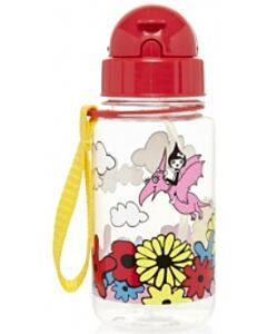 Babymel: Zip & Zoe Drinking Bottle with Straw - Floral Multi - 15% OFF!!