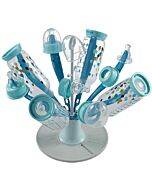 Beaba: Flower Bottle Draining Rack (Blue) - 25% OFF!