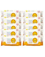 K-Mom Naturefree Organic Premium Wet Wipes 80pcs with Embo Cap - (BUNDLE OF 10 + FREE 1 PACK!) (RM13.27 each) - 47% OFF!!